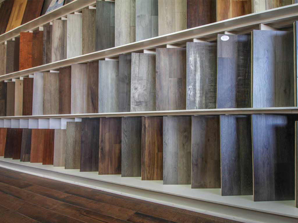 Wide variety of flooring products at Flooring Pros