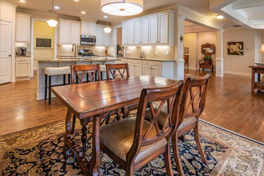 Kitchen flooring and installation