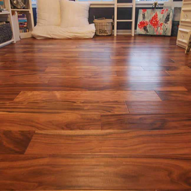 customer photo by flooring company
